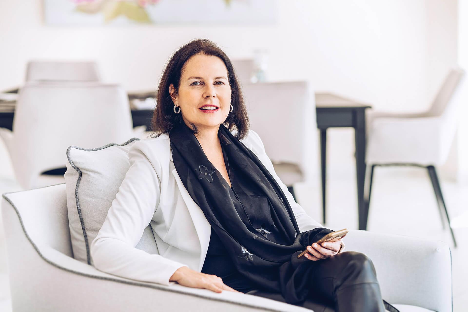 Karin Marchl (Geschäftsführende Gesellschafterin)