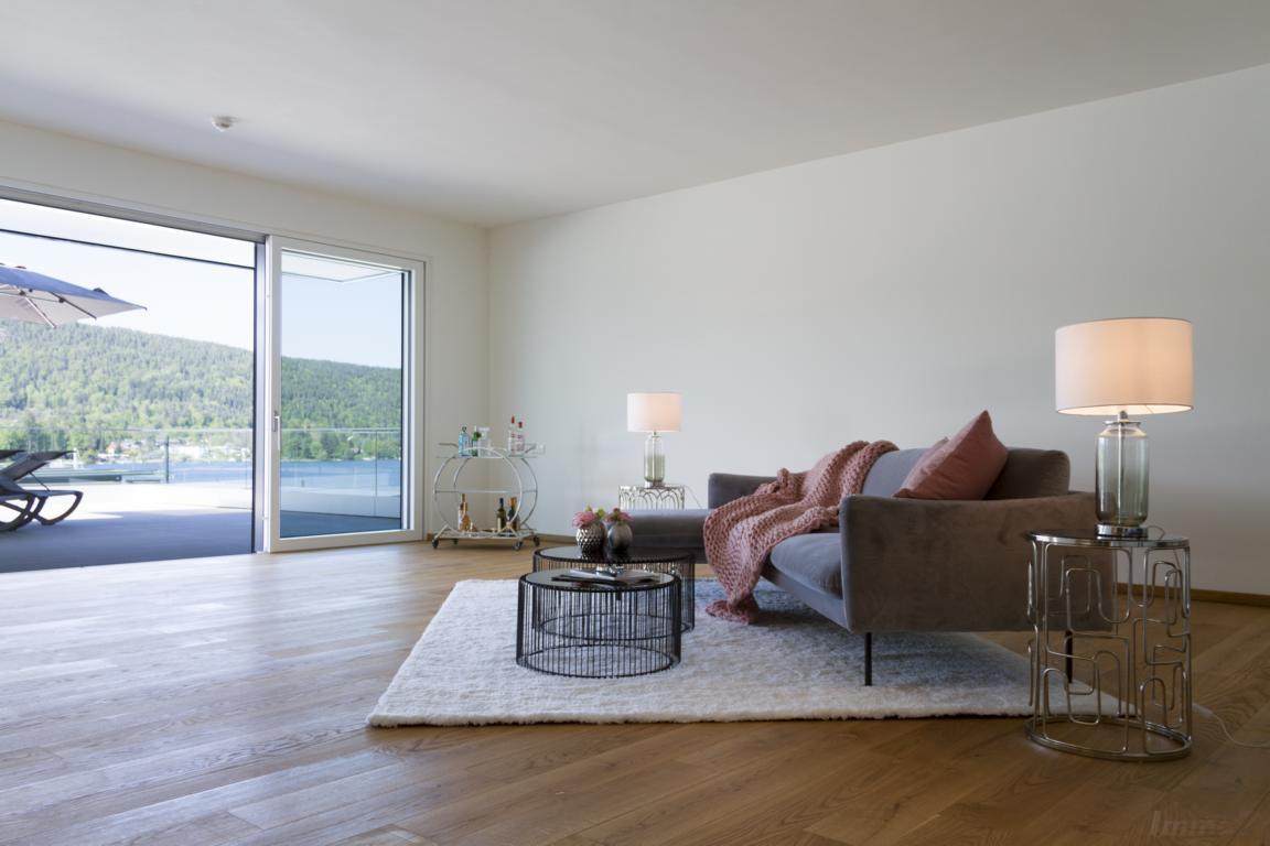 Penthouse-Velden-Woerthersee-Seezugang