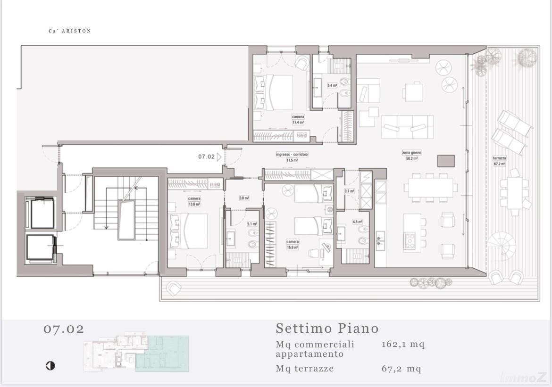 Grundriss Penthouse 7.02